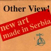 """Naslovna strana kataloga izložbe """"Drugačiji pogled"""""""