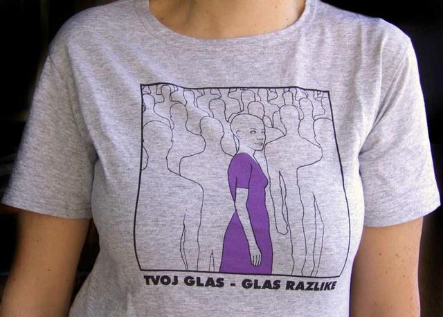"""Majica """"Glas razlike"""""""