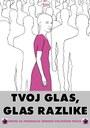 "Poster ""Glas razlike"""