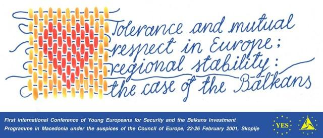 "Poster ""Tolerance..."""