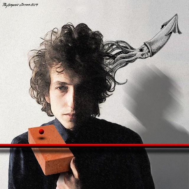 Bob Dylan - slika Zorana Mujbegovića