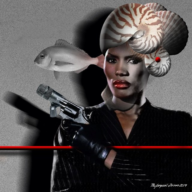 Grace Jones slika Zorana Mujbegovica