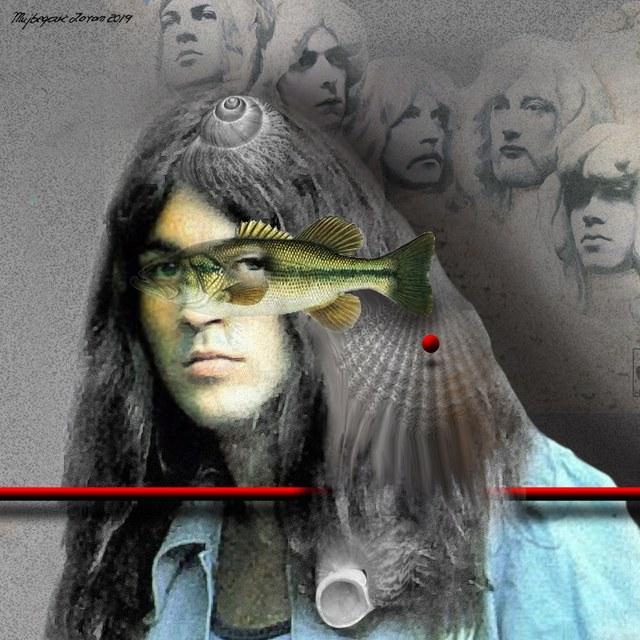 Ian Gillan Deep Purple - slika Zorana Mujbegovića