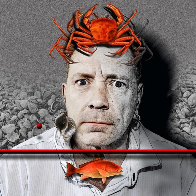 Johnny Rotten - slika Zorana Mujbegovica