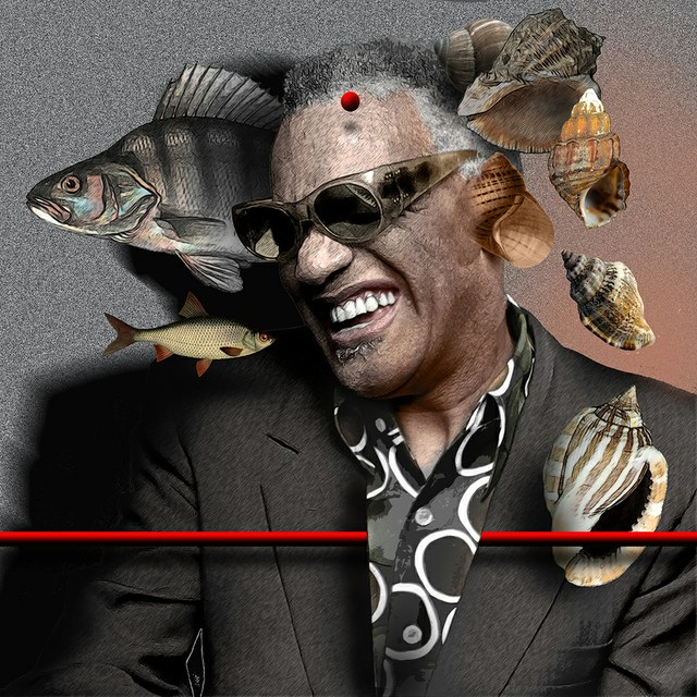 Ray Charles - slika Zorana Mujbegovica