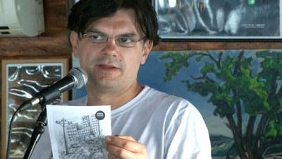 Dalibor Drekić - drugonagrađeni u kategoriji literarne umetnosti na konkursu Planeta ART