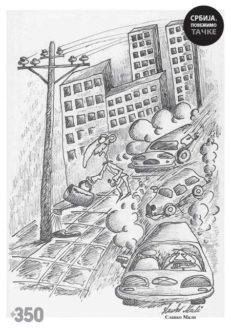 Karikatura Slavka Malog