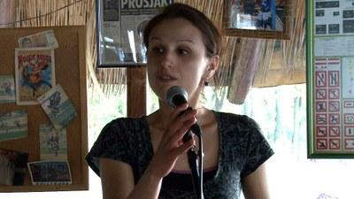 Mila Babić - autorka pohvaljenog rada u kategoriji vizuelne umetnosti na konkursu Planeta ART